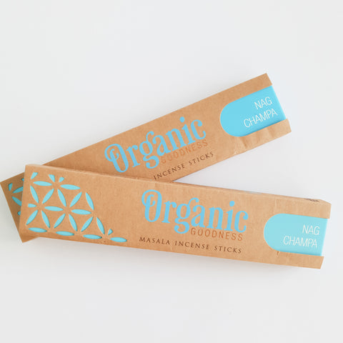Nag Champa - Organic Goodness Masala Incense Sticks
