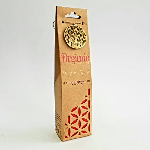 Dragons Blood  - Organic Goodness Masala Incense Cones