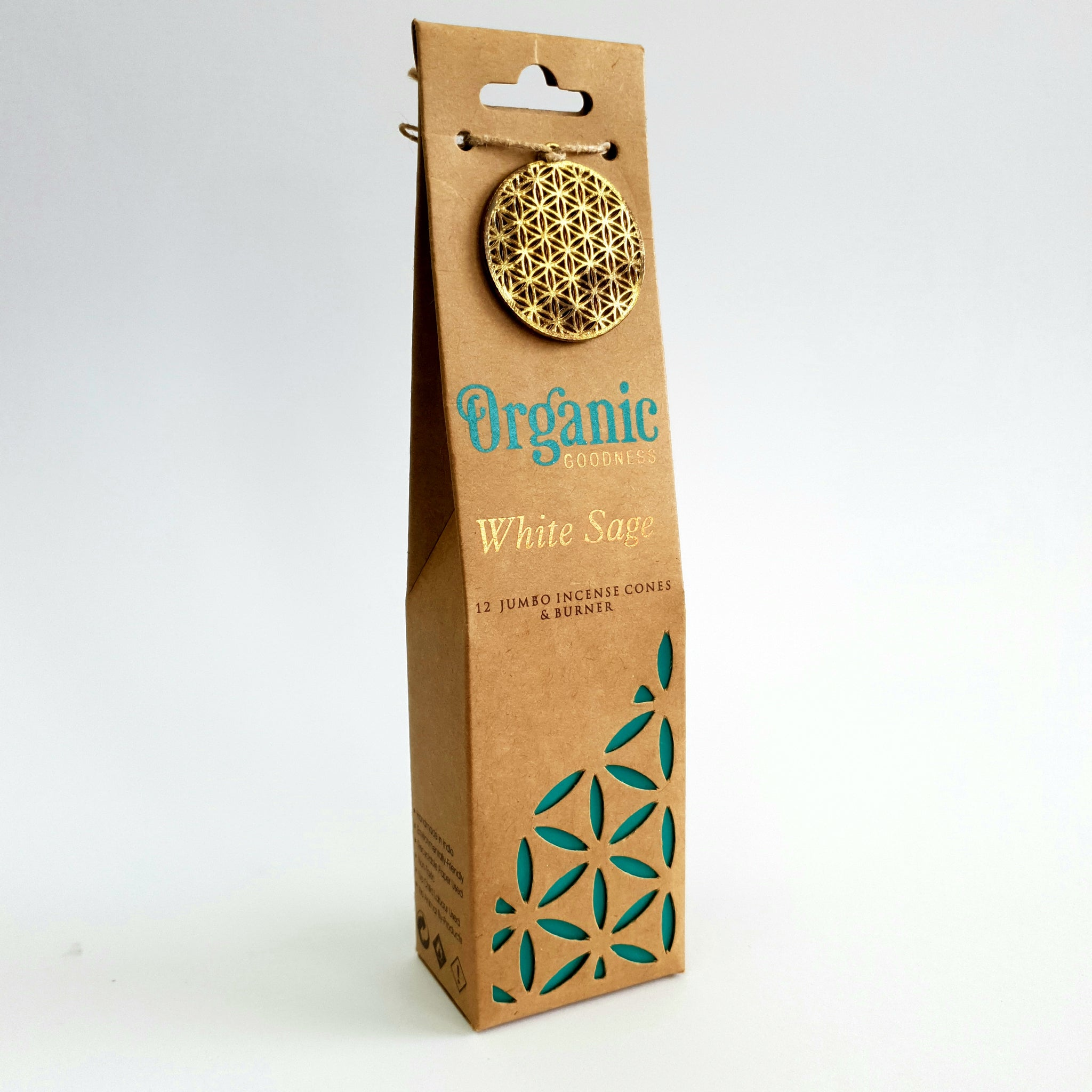 White Sage  - Organic Goodness Masala Incense Cones