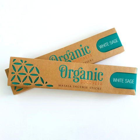 White Sage Sticks - Organic Goodness Masala Incense