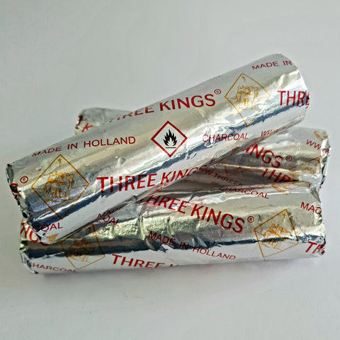 Three Kings Charcoal Discs - 1 roll