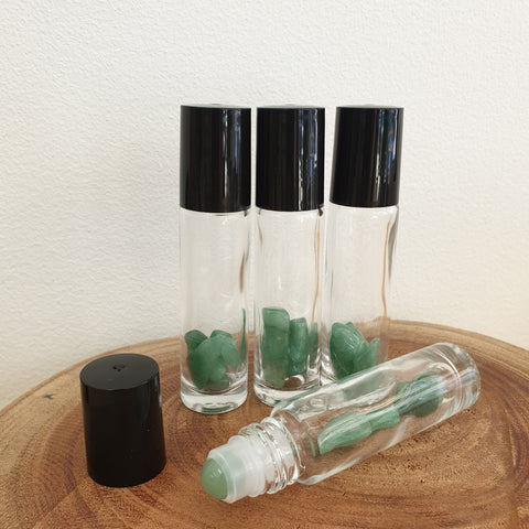 10ml Gemstone Roller Bottle Thick - Aventurine