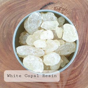 White Copal resin - 2 sizes