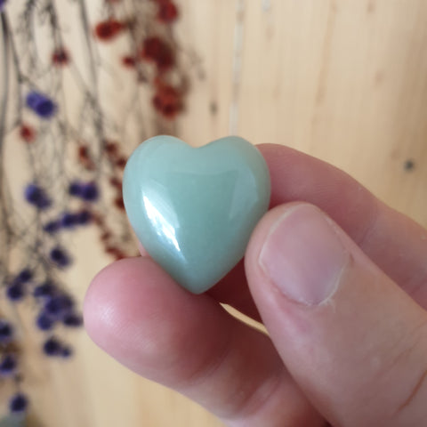 Aventurine Heart ▪︎ Mini