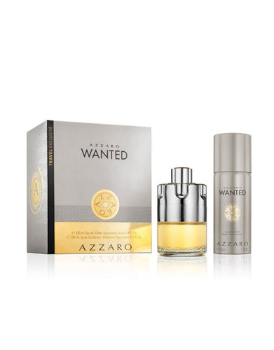 Wanted EDT Mens Gift Set