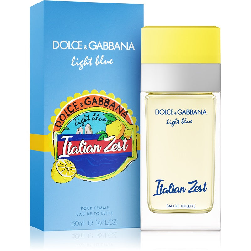 Light Blue Italian Zest Eau de Toilette