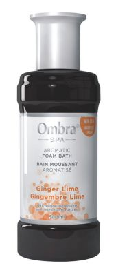 Ginger Lime Aromatic Ombra Foam Bath