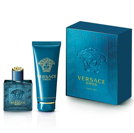Eros EDT Mens Travel Gift Set