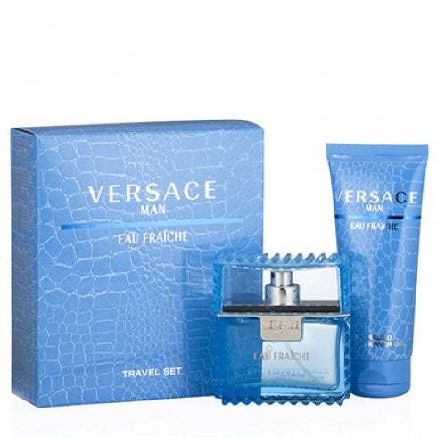 Versace Man EDT Mens Travel Gift Set
