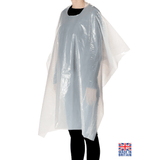 500x Disposable Hairdresser/Barber Gowns