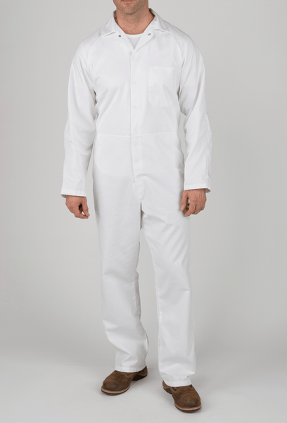 White Knight White Food Industry Coverall
