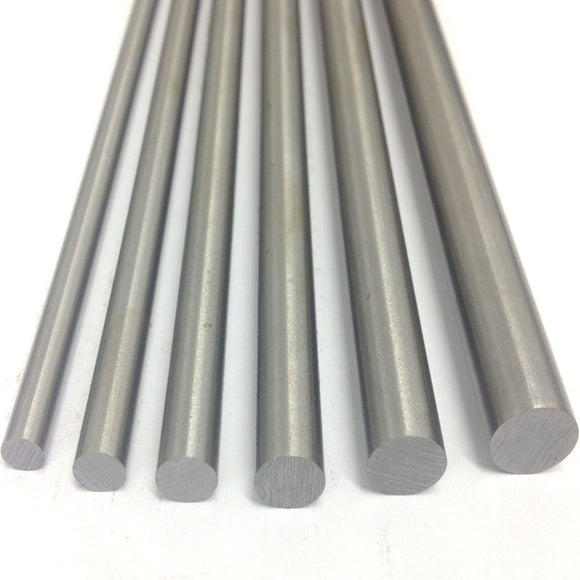 8mm Diameter x 330mm Long Metric Silver Steel (BS1407)