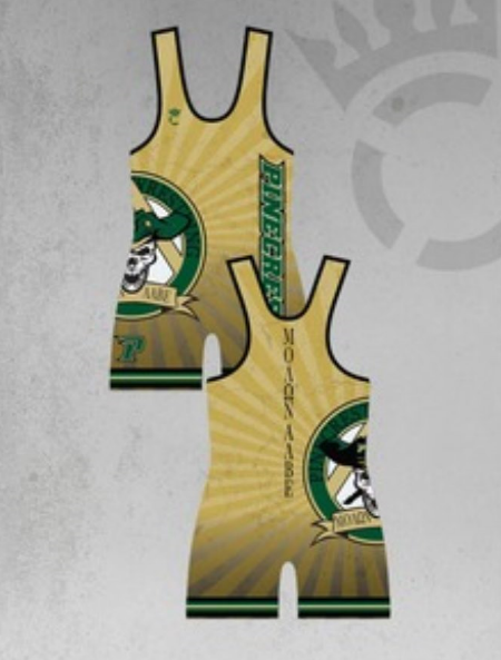 Pinecrest Wrestling Club Singlet - Pinecrest Wrestling Club