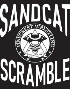 Sandcat Tee Shirt - Pinecrest Wrestling Club
