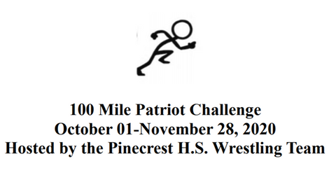 Individual 100 Mile Patriot Challenge