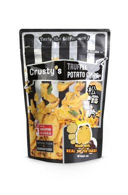 Crusty's Truffle Salted Egg Potato Chips (Single Pack)