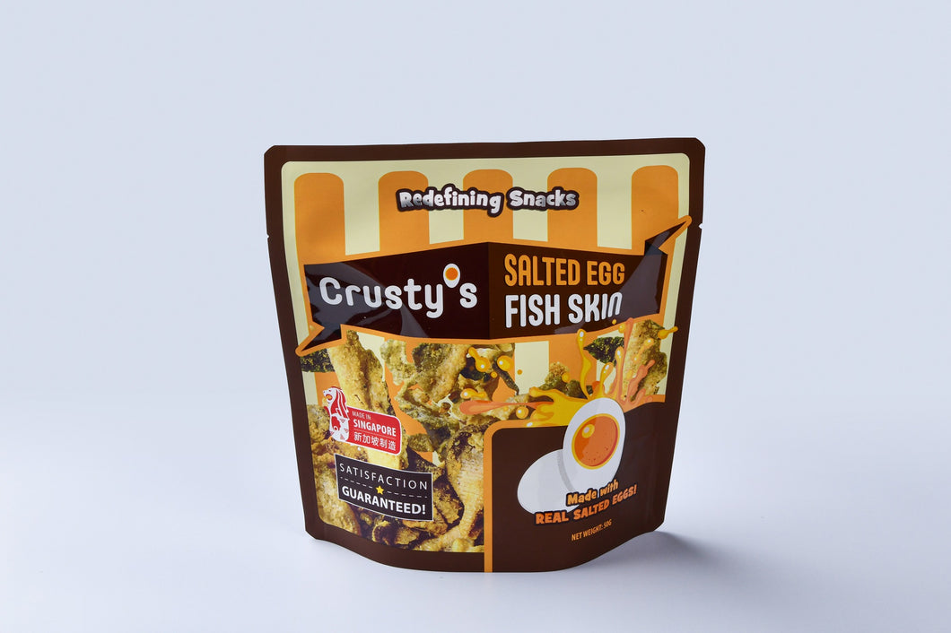 Crusty's Salted Egg Fish Skin (Single Fun Pack)