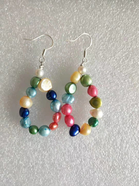 Pearl Drop Earring 14 Colors