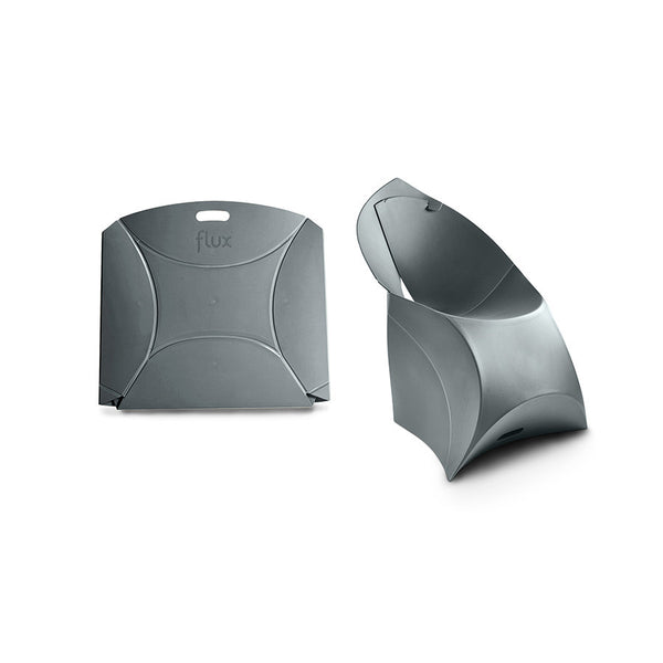 Anthracite Grey Flux Chair