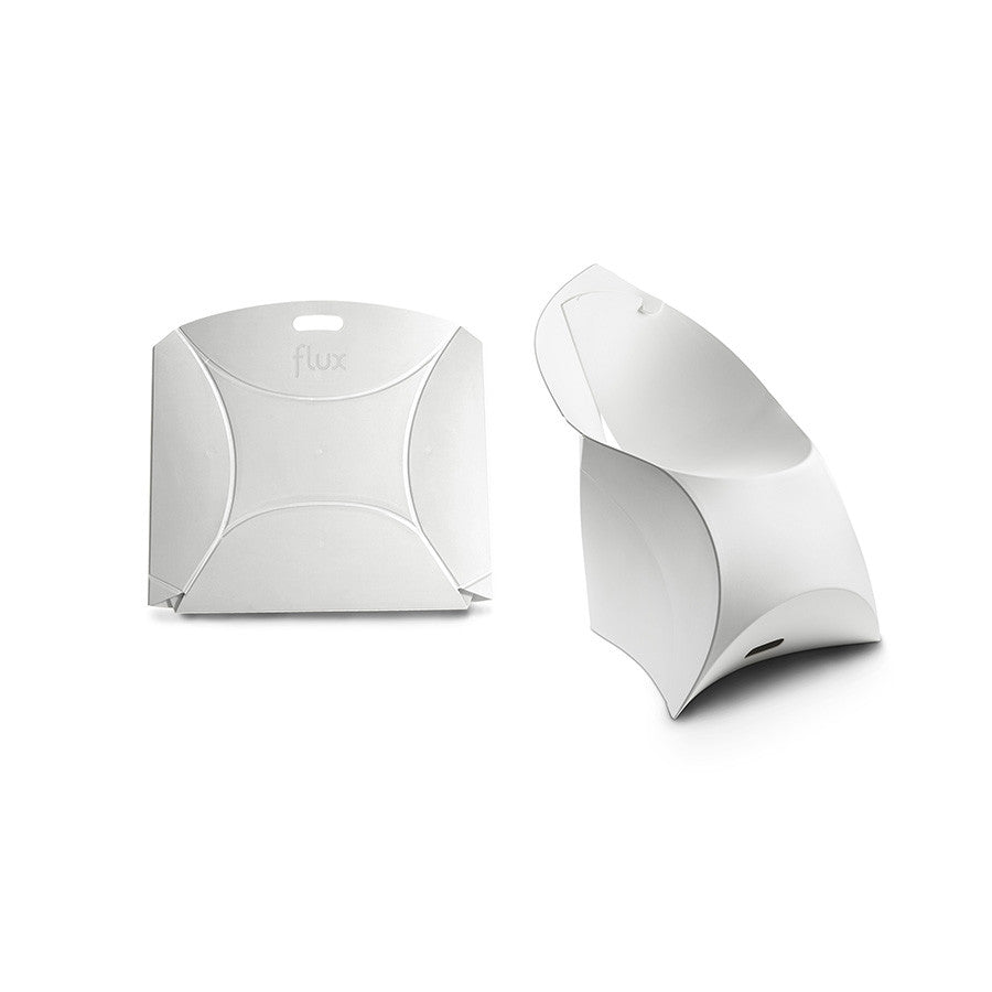 Pure White Flux Chair