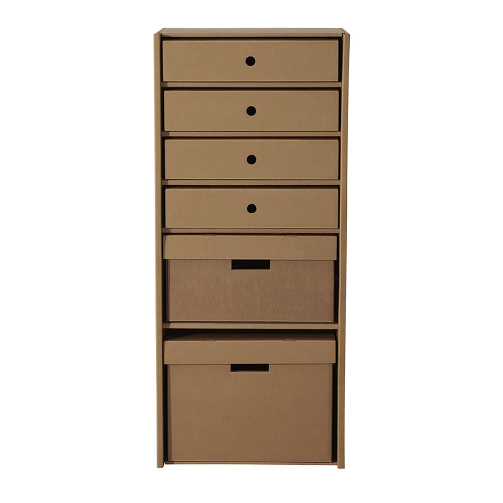 cardboard storage unit furniture