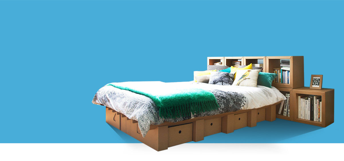 The Paperpedic Bed