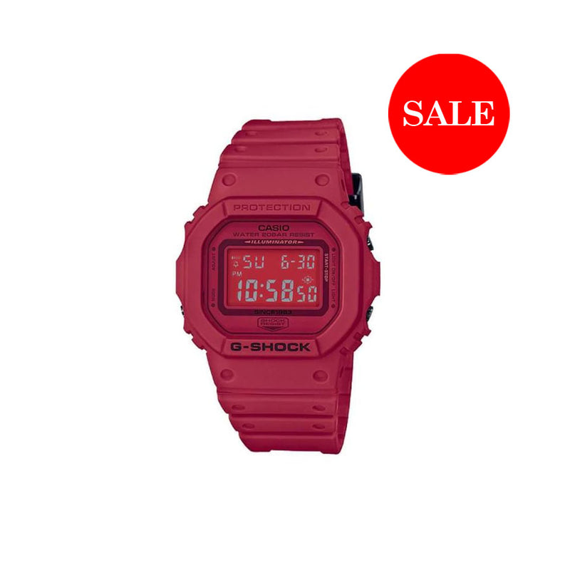 CASIO G-SHOCK DW5635 RED OUT SERIES