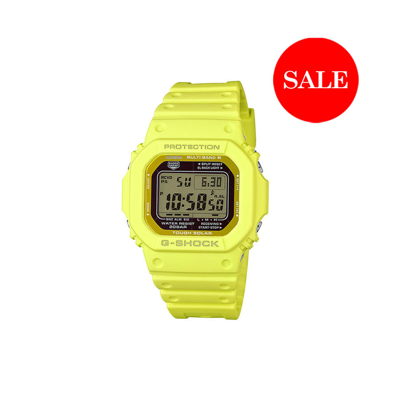 CASIO G-SHOCK DW5600 YELLOW
