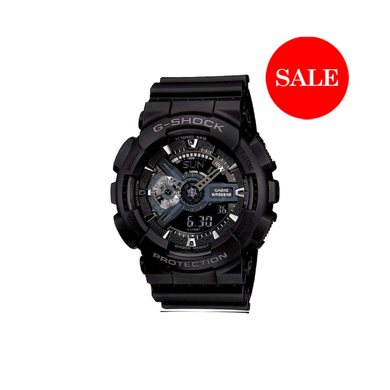 CASIO G-SHOCK GA110 BLACK SILVER