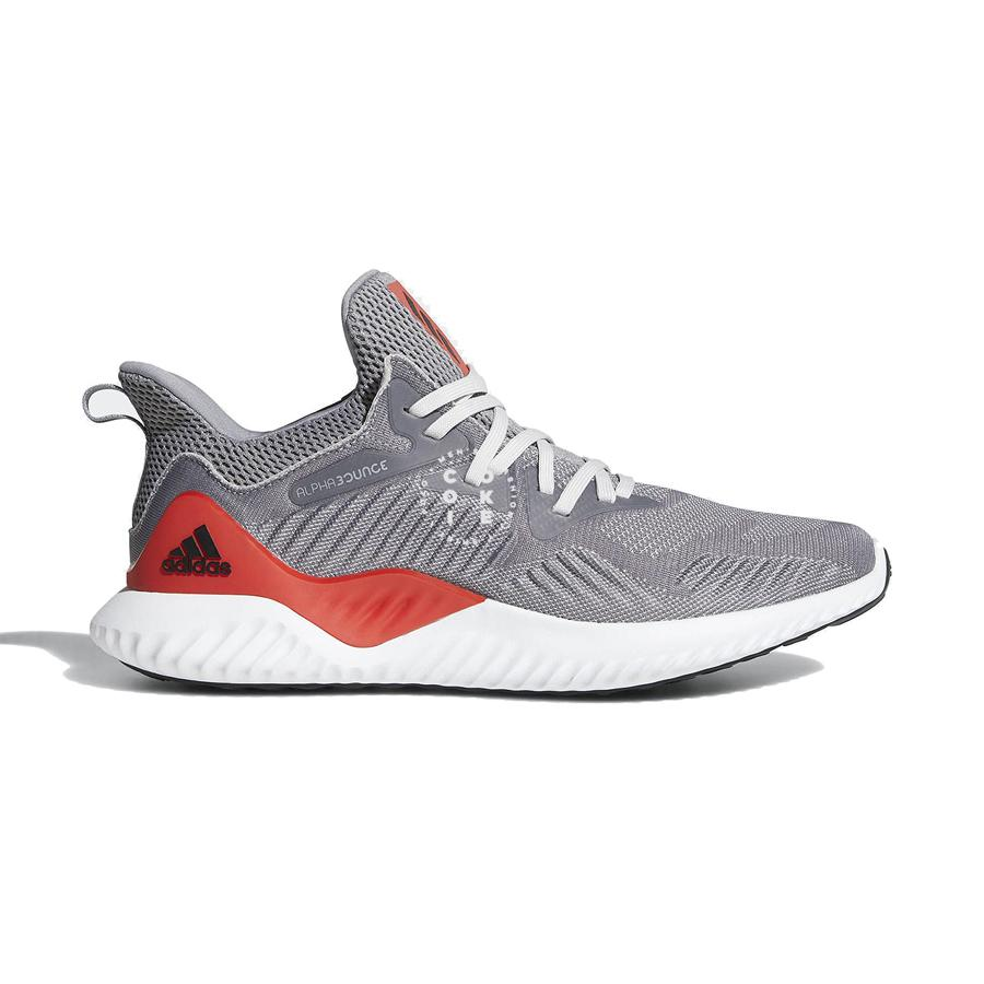 ADIDAS ALPHABOUNCE BEYOND | GREY-RED