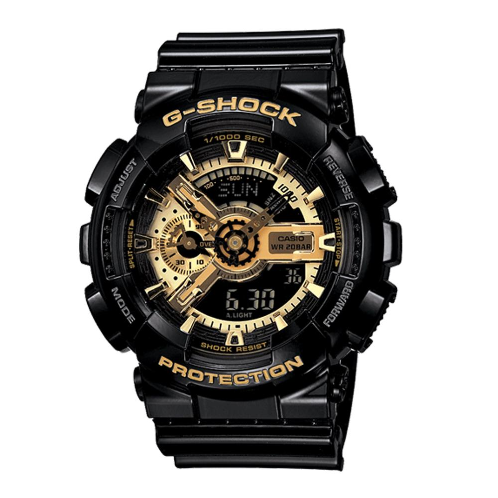 G-SHOCK GA-110 | BLACK/GOLD