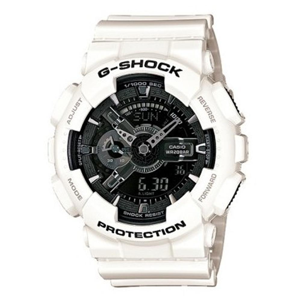 G-SHOCK GA110 | WHITE/BLACK