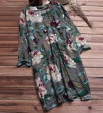 Women Casual Dresses Shift Daily Floral-Print Floral Dresses