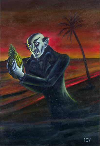 Nosferatu With Pinapple (fine art print)