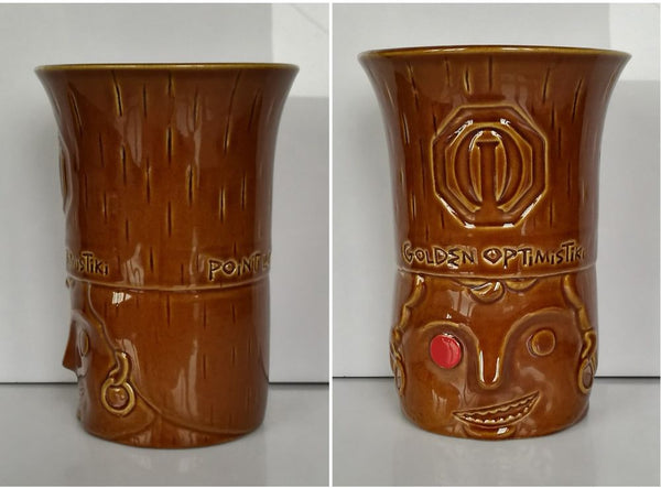 Golden OptimisTiki Mug