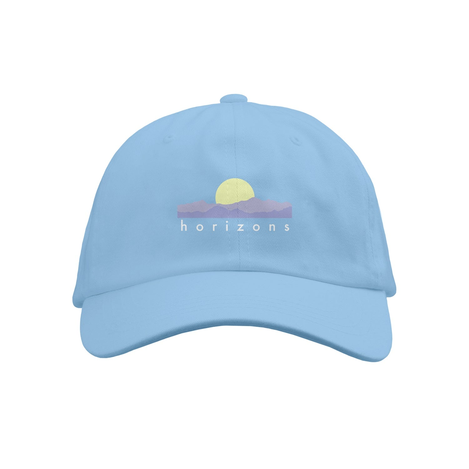 Horizons Text Baby Blue Dad Hat