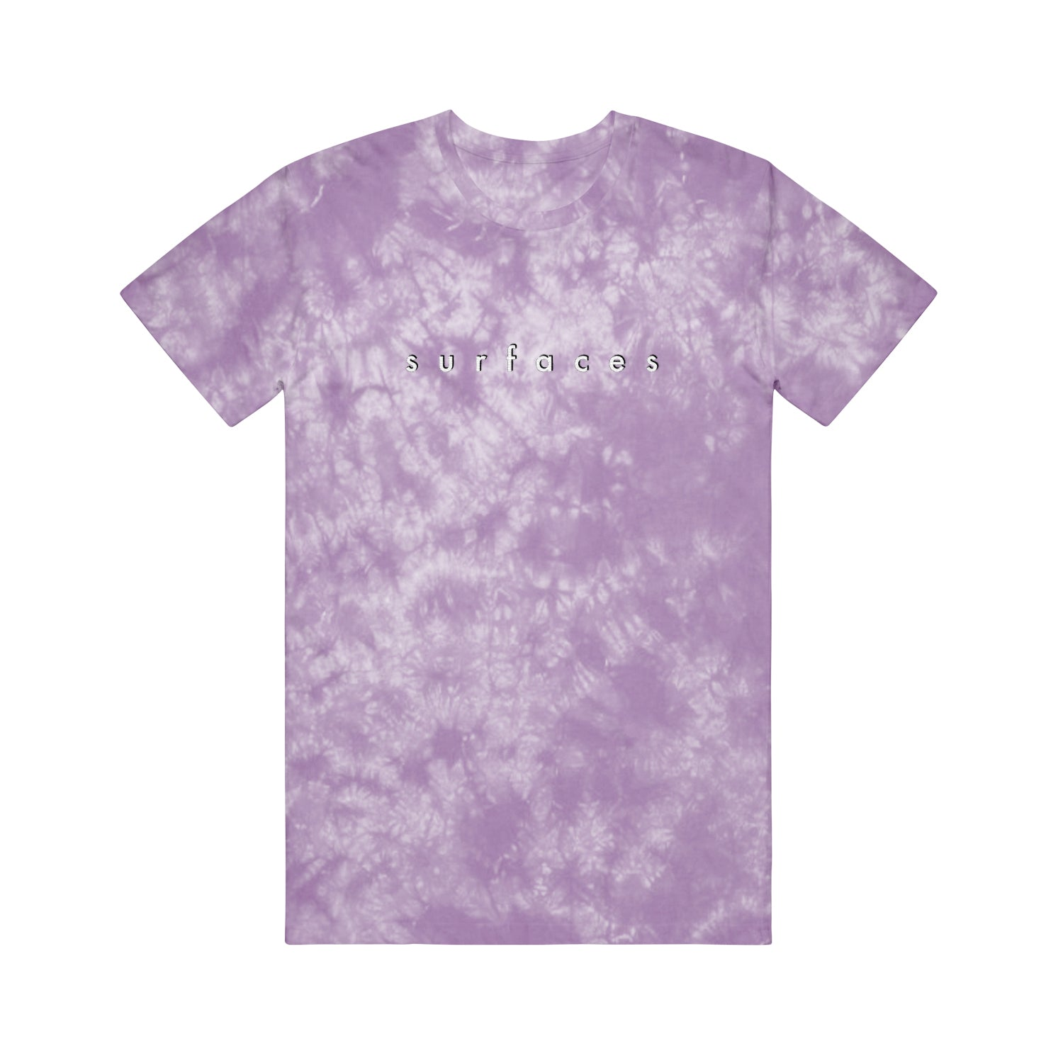 logo lavender crystal embroidered