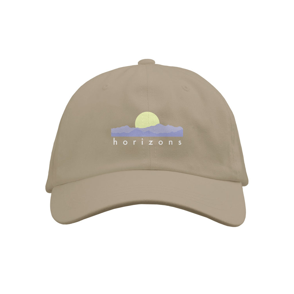 Horizons Text Stone Dad Hat