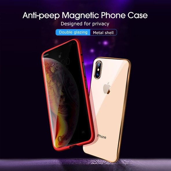 2019 Latest! Anti-peep Magnetic IPhone Case ( Double Side)