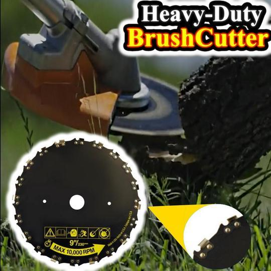 2-IN-1 HEAVY DUTY CHAINSAW & BRUSHCUTTER BLADE