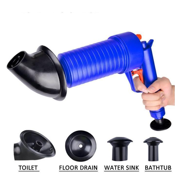 AIR BLOW™ GUN: EASY UNCLOGS SINKS AND TOILETS WITH A TRIGGER AIR BLOW™ GUN: EASY UNCLOGS SINKS AND TOILETS WITH A TRIGGER Default Title