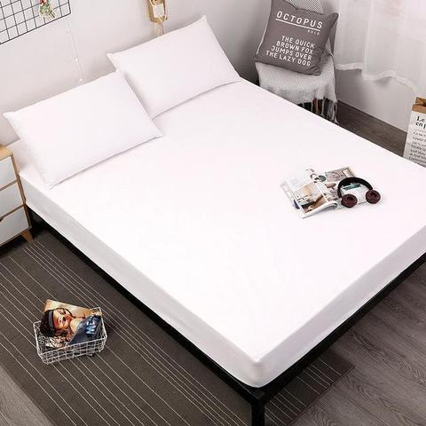 ANTI-FOULING BED MATTRESS COVER ANTI-FOULING BED MATTRESS COVER White / Twin Bed