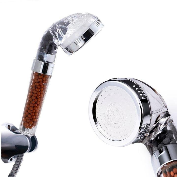 High-Pressure Ionic Filtration Shower Head High-Pressure Ionic Filtration Shower Head Blue