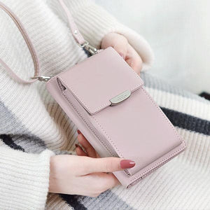 IVY™: All-In-One Crossbody Phone Bag (New 2019) IVY™: All-In-One Crossbody Phone Bag (New 2019) PINK