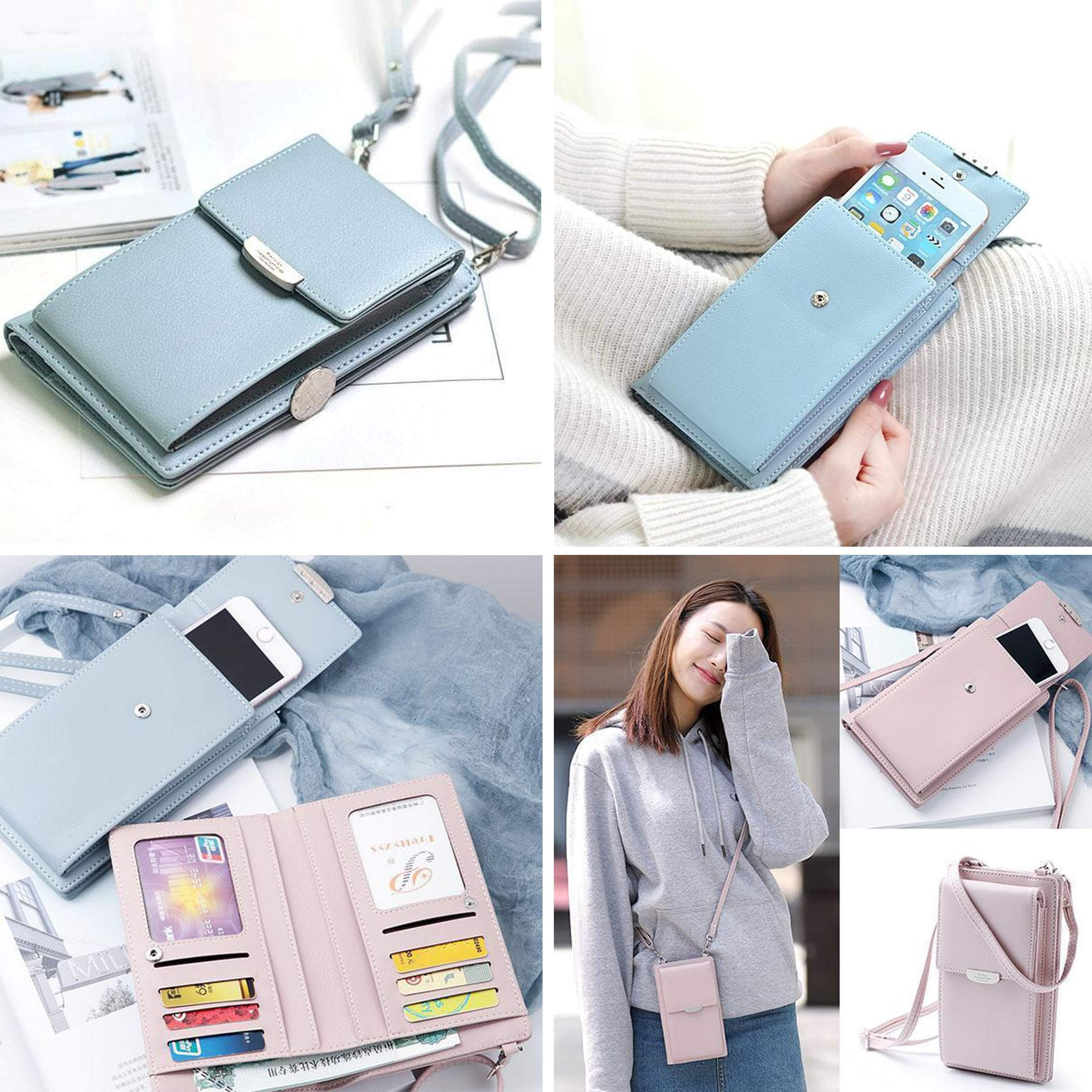 IVY PIERRE™: Crossbody Phone Bag IVY PIERRE™: Crossbody Phone Bag GREY