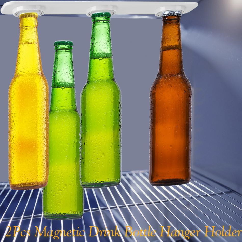 MAGNETIC FRIDGE BOTTLE HANGER/ default MAGNETIC FRIDGE BOTTLE HANGER/
