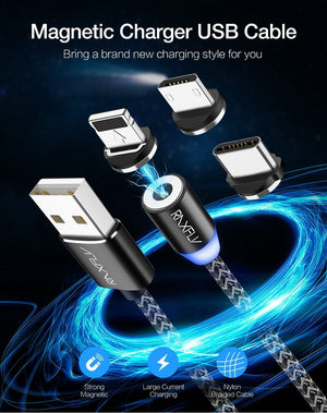 RAXFLY Magnetic Cable Charge for Android default RAXFLY Magnetic Cable Charge for Android