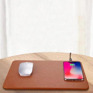 WIRELESS CHARGING MOUSEPAD WIRELESS CHARGING MOUSEPAD Black
