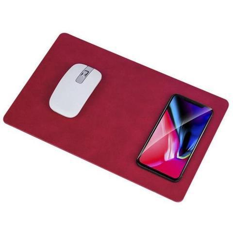 WIRELESS CHARGING MOUSEPAD WIRELESS CHARGING MOUSEPAD Wine Red
