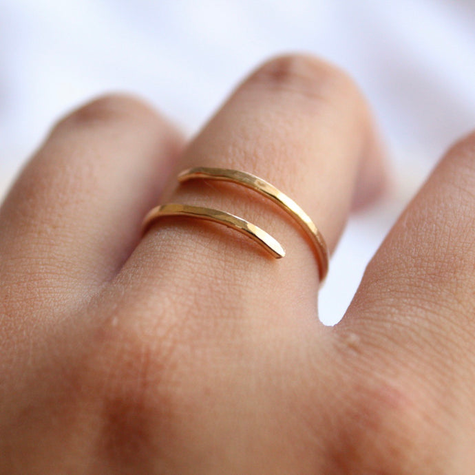 tsuki-jewelry - Minimalist Ring - Mikazuki Crystal Co. - Ring